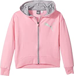 Puma Kids - Cotton French Terry Zip Hoodie (Big Kids)