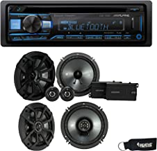 """$339 » Sponsored Ad - Alpine CDE-172BT Bluetooth CD Receiver, a Pair of Kicker 43CSS654 6.5"""" Components, & a Pair of 43CSC654 6...."""