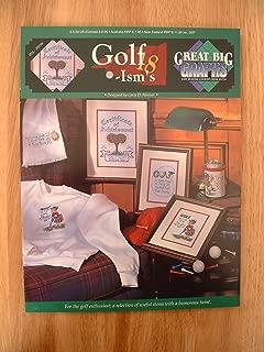 Golf-Ism's Cross Stitch Pattern (Great Big Graphs, VCL-20116)