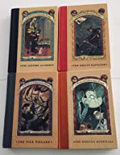 4 Series of Unfortunate Events Books! Books 5-8: The Austere Academy, The Ersatz Elevator, The Vile Village, The Hostile H...