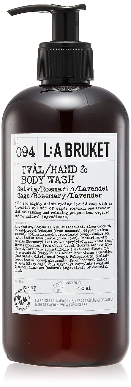 ワイヤー下線要件L:a Bruket (ラ ブルケット) ハンド&ボディウォッシュ (セージ?ローズマリー?ラベンダー) 450g