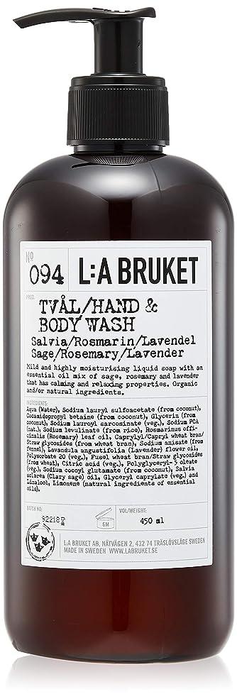 脱走断線マウントL:a Bruket (ラ ブルケット) ハンド&ボディウォッシュ (セージ?ローズマリー?ラベンダー) 450g