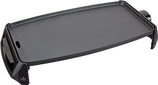 Jata GR195 Plancha de Asar Eléctrica, Antiadherente, 2200 W, 0 Decibeles, Negro