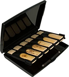 Protec Bb Clarinet Reed Case for 12 Reeds (Opaque Black), Model A250