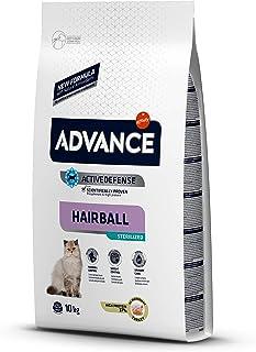 Advance Pienso para Gato Esterilizado Bolas de Pelo con Pavo - 10 Kg