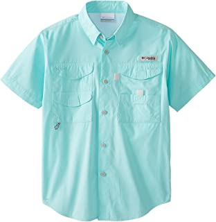 Youth Boys PFG Bonehead Short Sleeve Shirt, Cotton, Relaxed Fit