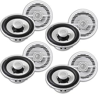 Clarion CMG1622R 6.5 Marine Speaker in White Case Pack 8 Speakers (4 Pair) in Total photo