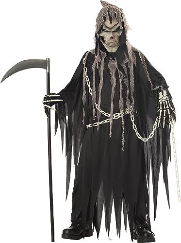Envio gratis en todas las ordenes California California California Costumes Grim Reaper Boys Halloween Costume L  orden ahora con gran descuento y entrega gratuita
