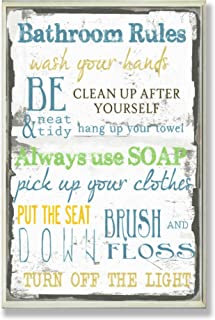 amazon com bathroom plaques home d cor accents home kitchen rh amazon com