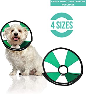 ProCollar Pet Recovery Cone E-Collar for Dogs and Cats - Always Use with Your Pet's Everyday Collar - Comfortable Soft Collar is Adjustable for a Secure and Custom Fit - Easy for Pets to Eat and Drink
