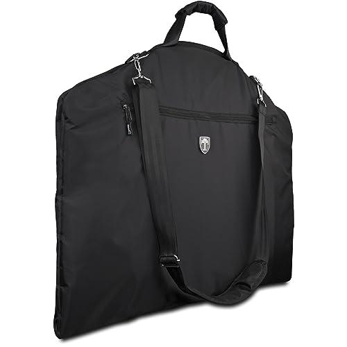 TRAVANDO Garment Bag, Suit Carrier with 15