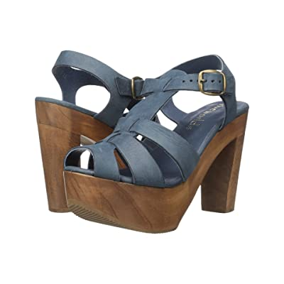 Cordani Tecate (Blue Nubuck) High Heels