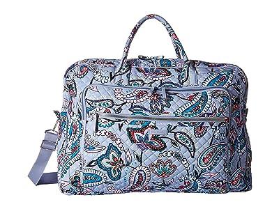 Vera Bradley Iconic Grand Weekender Travel Bag (Makani Paisley) Weekender/Overnight Luggage