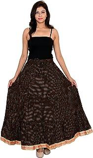 Generic Women'S Black Skirts(Jiskrt-129_Black_42W X 40L)