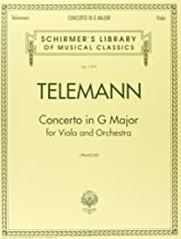 Best telemann viola concerto in g sheet music Reviews