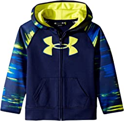 Under Armour Kids - Accelerate Big Logo Hoodie (Little Kids/Big Kids)