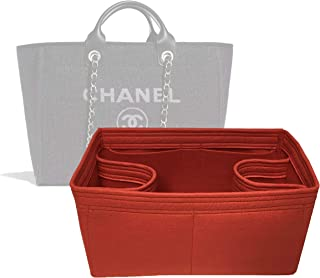 e441ffe180 Zoomoni Chanel Deauville Tote (Medium) Purse Organizer Insert - Premium Felt  (Handmade/