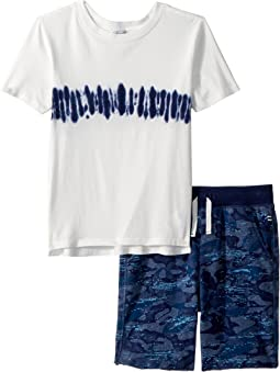 Whale Camo Short Set (Little Kids/Big Kids)