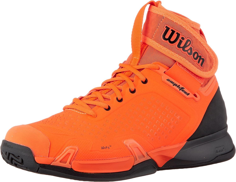Wilson Unisex Amfetel Tennis skor Shock orange and Magnet (WRS324090 -S18)