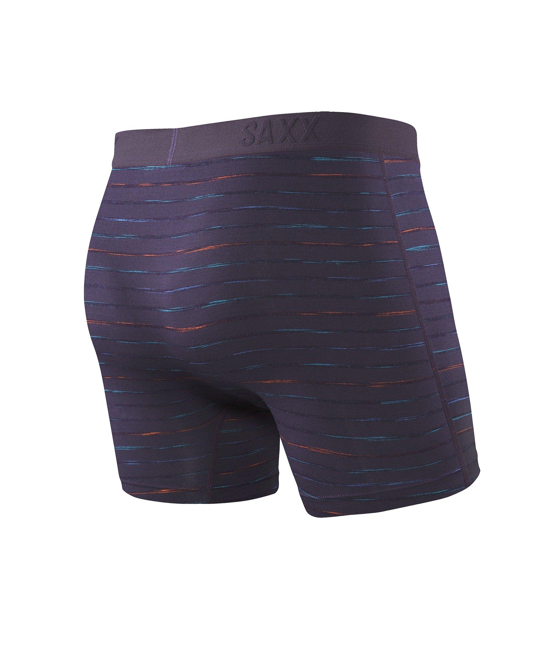 Fly Night Stripe Platinum Boxer Interrupted Underwear Saxx qPxwCSx