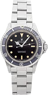 Rolex Submariner Mechanical (Automatic) Black Dial Mens Watch 5513 (Certified Pre-Owned)