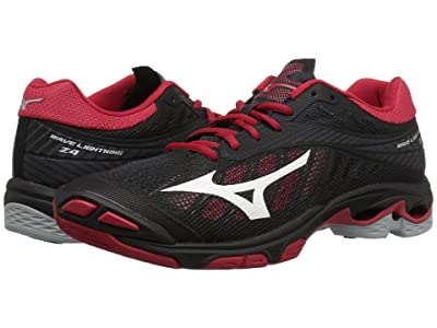 Mizuno Wave Lightning Z4 (Black/Red) Women