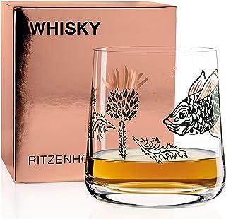 Ritzenhoff Next Whisky Whiskyglas von Olaf Hajek, aus Kristallglas, 402 ml