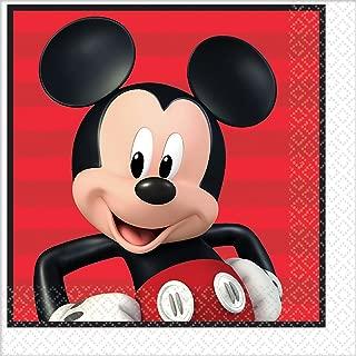 Amscan Disney Mickey Lunch Napkins