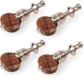 Waverly Ukulele Friction Tuning Pegs, Set of 4 with Koa Knobs