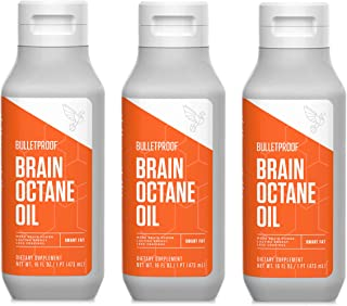 Bulletproof Brain Octane Oil Bundles (3 Pack)