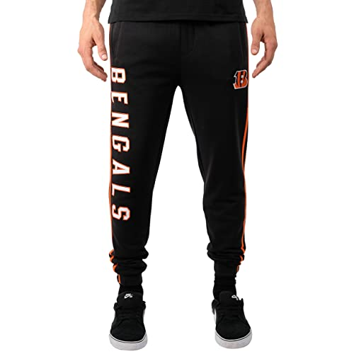 ICER Brands NFL Men s Jogger Pants Varsity Stripe Fleece Sweatpants e4cab21ec225
