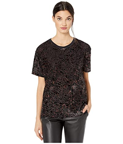 Free People Teddy T-Shirt (Black Combo) Women