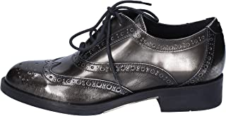 [CARMENS] 古典的な女性の靴 レディース エナメル グレー 25.5 Cm
