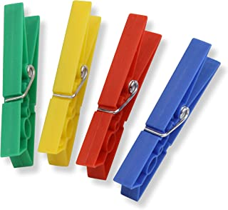 Honey-Can-Do DRY-01410 Plastic Clothespins, 50-Pack