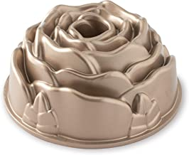 Nordic Ware Platinum Rose Cast Aluminum Bundt Pan, One size, copper