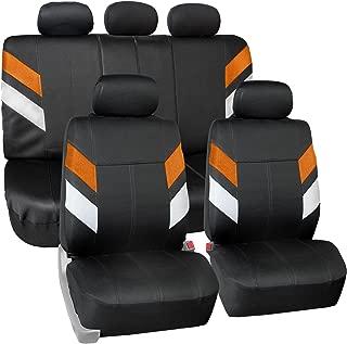 FH Group FB086115ORANGE Orange Neoprene Seat Cover (Semi-Universal Modern Edge)