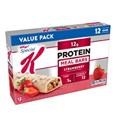 Special K Protein Meal Bars, Strawberry, Value Pack, 12 Count
