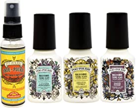 product image for Poo-Pourri Original Citrus, Potty Potion, Lavender Peppermint 2 Ounce Before You Go Toilet Spray, and Shoe Pourri 2 Ounce