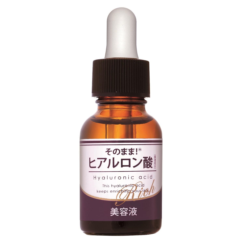 道路兄化学薬品そのまま! ヒアルロン酸リッチ (20mL)