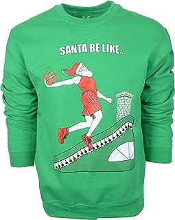 Christmas Sweatshirt Funny Xmas Sweater Men and Women Basketball Gym 523