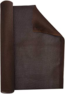 """Facmogu Brown Subwoofer Speaker Grill Cloth, 55""""x20"""" Stereo Fabric Replacement for Home Speakers, Stage Audio Speakers and..."""