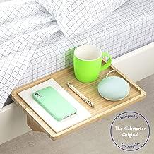 BedShelfie The Original Bedside Shelf - 9 Colors / 4 Sizes - AS SEEN ON Business Insider (Minimalist, Natural)