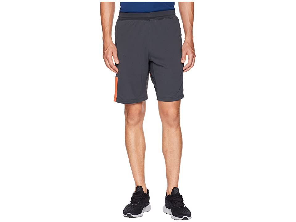 adidas Back To School Training Shorts (Carbon/Raw Amber/White) Men