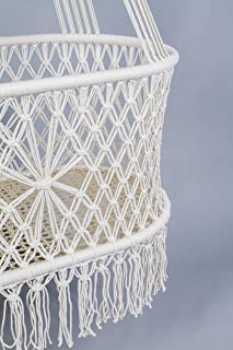 Hanging Crib in Macrame Hanging Crib in Macrame (without accessories)
