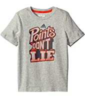adidas Kids - Points Don't Lie Tee (Big Kids)