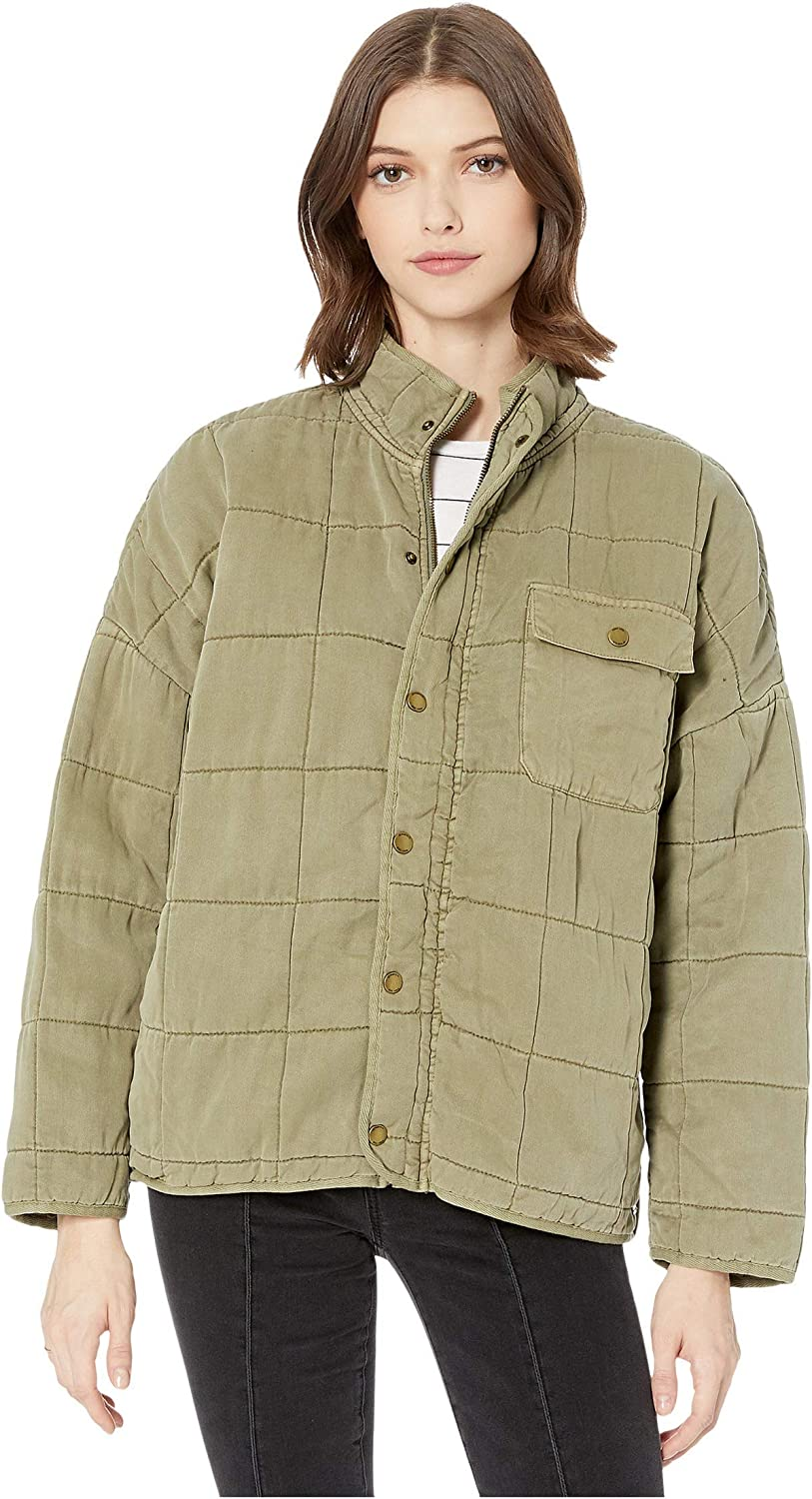 O'Neill Women's Quilted Button Front Jacket