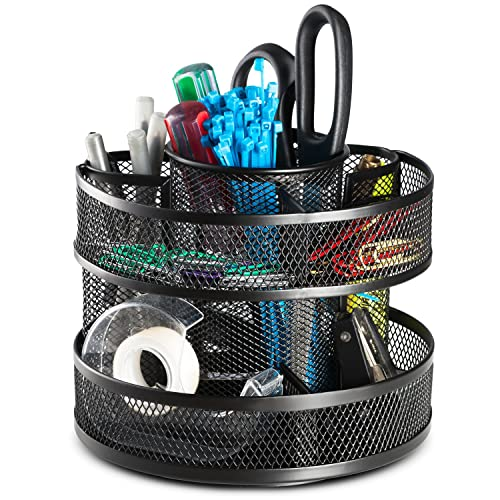 Pencil Rotating Desk Organizer Amazoncom