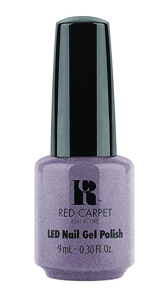 クラッシュ恐ろしいパイルRed Carpet Manicure - LED Nail Gel Polish - One of a Kind - 0.3oz / 9ml