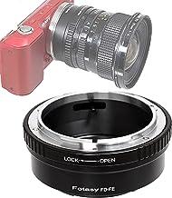 Fotasy Canon FD Lens to Sony E-Mount Adapter, FD to E-Mount, Canon FD Adapter to E Mount, fits Sony NEX-5T NEX-6 NEX-7 a30...