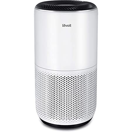 LEVOIT Air Purifier for Home Large Room, Smart WiFi and Alexa Control, H13 True HEPA Filter for Allergies, Pets, Smoke, Dust, Auto Mode, PM2.5 Display, Core 400S, 403 sq.ft, White